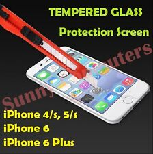 15x Scratch Resist Tempered Glass Screen Protector Film Guard for iPhone 5 5s 4s