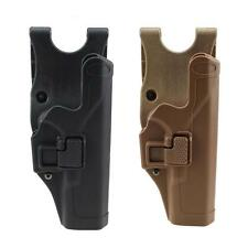 Tactical Level 2 Right Hand Waist Belt Pistol Gun Holster f Glock 17 19 22 23 31