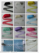 Wholesale. New 10 Yard Beautiful Handicrafts Embroidered Net Lace Trim Ribbon.