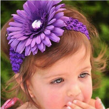 Kids Flower Headband Girl Baby Toddler Daisy Hair Band Accessories Headwe CWB