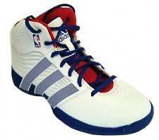 Adidas kids RISE UP NBA Mid Boot TRAINER Q33428 White UK10,11,11.5,5.5,6 kids