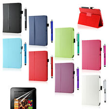 Folio PU Leather Case Smart Cover Stand for Amazon Kindle Fire HD 17.8cm