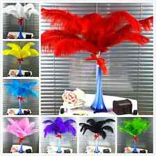 10-100pcs High Quality Natural OSTRICH FEATHERS 8-10'' Weddings birthdays