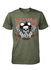 BNWT WANTED BANDIT COWBOY SKULL OUTLAW POSTER WESTERN ADULT T SHIRT S-XXL