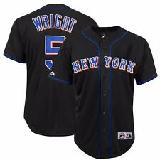 Circa 2004 David Wright New York Mets Alternate Road Black Rookie Jersey Men's