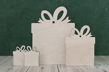 Plywood & mdf presents craft shape ideal for gift tags, plaques & craft blanks