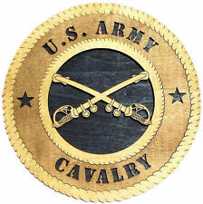 U.S. Army Cavalry Wall Tribute, U.S. Army Cavalry Hand Made Gift
