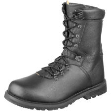 Brandit Bw German Army Combat Boots Model 2000 Leather Military Footwear Black