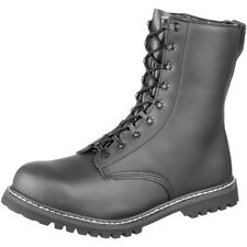 Brandit Military Combat Para Boots Steel Cup Security Leather Footwear Black