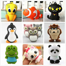 Multi-Style Cute Animal Model Genuine USB 2.0 Memory Flash Stick Pen drive 8GB
