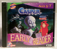 Casper: Animated Early Reader (Windows/Mac, 1998) 2 Disc - Includes Activities