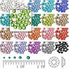 144/1440Pcs Fashion Crystal Round Flat Back Rhinestones SS6 Wholesale Non-Hotfix