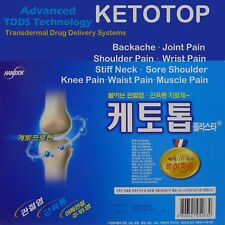 New Ketotop Plaster Pain Relief Patch 136 Sheet Ketoprofen Korea DDS FDA, Zipper