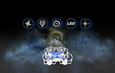 6 Axis Gyro Mini UFO Quadcopter Aircraft W/ LED Light  Remote Control Helicopter