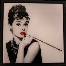 Lesser & Pavey Glitter Wall Art Picture The Icon  Audrey Hepburn LP27691