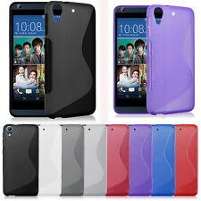 Durable Soft GEL TPU Rubber Case Cover Slim Protect Skin For HTC Desire 626 626S