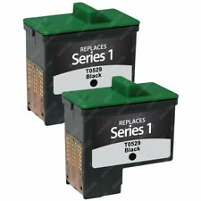 2 BLACK Ink Cartridges (Series 1) for DELL 720 / All-In-One A920 Inkjet Printer
