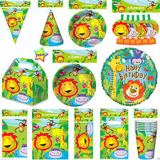 New Animal Lion Jungle Birthday Party Pack Jungle party Table Ware decoration