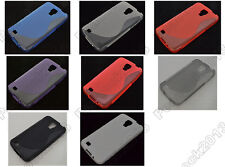 Multi Color S-Types TPU Silicone CASE Cover For Samsung Galaxy S4 Active I9295