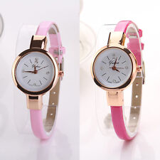Fashion New Womens Ladies Girls Watches Round Quartz Analog Bracelet Wrist Watch