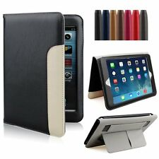 Folio Magnetic PU Leather Smart Cover Stand Hand Case For Apple iPad Wake/Sleep
