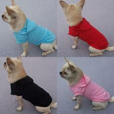 Small Pet Dogs POLO Shirt Hoodies Clothes Doggy Puppy T-Shirt Costumes Clothing