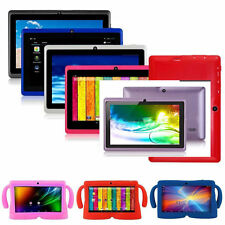 "WiFi Colors 8GB 7"" Google Android 4.4 Tablet PC for Kids Boys Girl Dual Cameras"