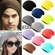 2016 Unisex Men Hip-Hop Warm Winter Wool Knit Ski Beanie Skull Slouchy Cap Hat