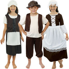 CHILD POOR TUDOR FANCY DRESS HISTORICAL SCHOOL CURRICULUM COSTUME HISTORY TRIP