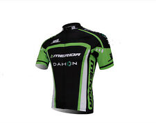 MERIDA Dahon Men's Cycling Clothes MTB Bike Jerseys Short Sleeve Shirt Green