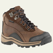 TIMBERLAND YOUTH PAWTUCKAWAY LACE-UP BROWN HIKING BOOTS STYLE 66732