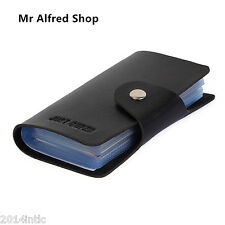 Leather Credit Card Holder Wallet Business Card Package PU Leather