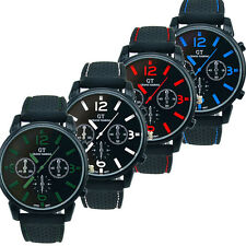 Mens Watches Fashion Stainless Steel Sport Cool Quartz Hours Analog Wrist Watch