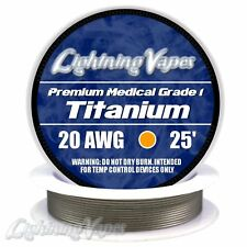 Titanium Wire (Surgical Grade 1) by Lightning Vapes