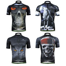 3D Design Men's Cycling Jerseys Short Sleeve Bike Bicycle Jerseys Top for Summer