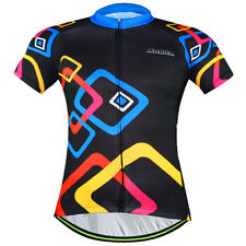 Men's Short Sleeve Cycling Jerseys Sportwear Bike Bicycle Jackets Square Rings
