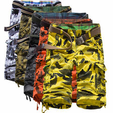 New Mens Casual Military Army Cargo Camo Combat Work Shorts Pants Trousers Hot