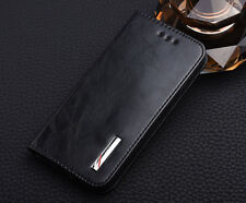 Luxury Premium PU Leather Wallet Stand Flip Cover Case For HTC One M8