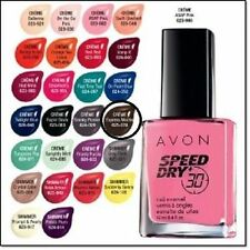 Avon Nailwear Pro+ Nail Enamel  & speed dry brand new and boxed various colours*