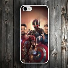 Age of Ultron The Avengers Case Cover For iPhone 4 4s 5 5c 5s 6 6s Plus Iron Man