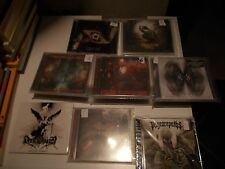 WHOLESALE LOT GREEK METAL CDS ,CROSSOVER,STONER,BLACK METAL,PROGRESSIVE ,DEATH
