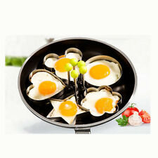 Kitchen Cooking Fried Egg Shaper Mold Ring Stainless Steel Pancake Mould Tool