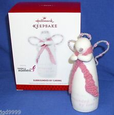 Hallmark Porcelain Ornament Surrounded by Caring 2013 Susan Komen Breast Cancer