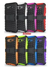 For Samsung Galaxy J7 3D 2-Layer Shock Skip Proof Grenade Rugged Defender Case