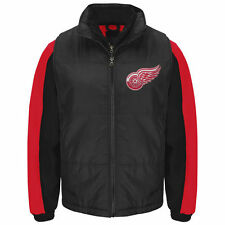 Detroit Red Wings G-III Sports by Carl Banks 3-in-1 Systems Jacket - Black - NHL