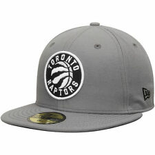 Toronto Raptors New Era Current Logo 59FIFTY Fitted Hat - Gray - NBA