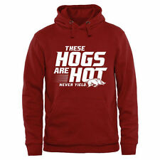 Arkansas Razorbacks These Hogs are Hot Pullover Hoodie - Cardinal - College
