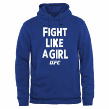 UFC Fight Like A Girl 2015 Pullover Hoodie - Royal - MMA