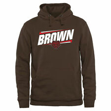 Brown Bears Double Bar Pullover Hoodie - Brown - College