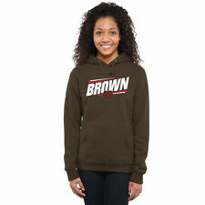 Brown Bears Women's Double Bar Pullover Hoodie - Brown - College